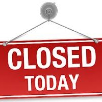 CLOSED TODAY IMAGE